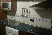 cocina con utensilios
