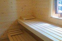 la sauna - interior