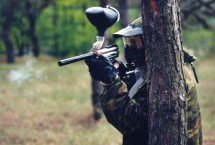 guerras de paintball